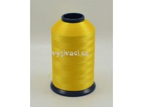 vyšívací nit žlutá ROYAL P007 5000m polyester