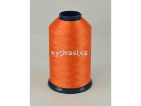 vyšívací nit oranžová ROYAL P191 5000m polyester