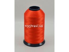 vyšívací nit oranžová ROYAL P046 5000m polyester