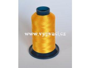 vyšívací nit žlutá tmavší ROYAL P009 5000m polyester
