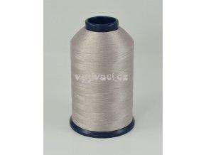 vyšívací nit šedohnědá ROYAL P211 5000m polyester