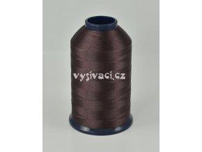 vyšívací nit hnědá ROYAL P308 5000m polyester
