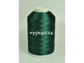 vyšívací nitě zelená ROYAL C465 návin 5000m viskóza