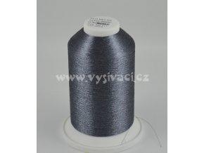 vyšívací nitě FILOMET ME211 metalická šedá, návin 5000m