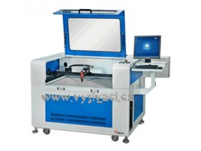 GBOS GN1080 CCD 5,0 - CO2 řezací a gravírovací plotr s polohovací kamerou