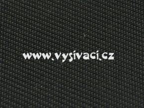 ELEGANT materiál pro vyšívání nášivek a aplikací š.150cm barva 255 černá