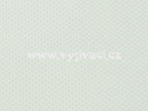 RASOX materiál pro vyšívání nášivek a aplikací 100% polyester, barva č. 100 bílá
