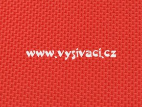 RASOX materiál pro vyšívání nášivek a aplikací 100% polyester, barva č. 165 červená