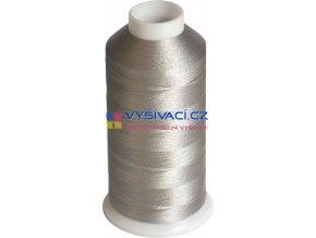 Vyšívací nit polyesterová P3183 šedá