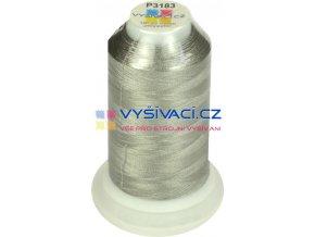 vyšívací nit polyester barva šedá P3183 návin 1000m  36,30 Kč s DPH za kón při nákupu balení 10 kusů