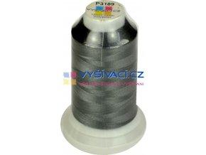 vyšívací nit polyester barva šedá P3189 návin 1000m  33,30 Kč s DPH za kón při nákupu balení 10 kusů