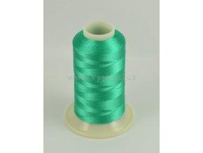 vyšívací nit zelená ROYAL C352 návin 1000m viskóza