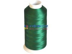 Vyšívací nit polyesterová P3170 zelená