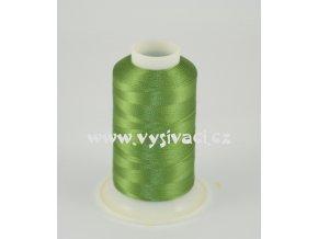 vyšívací nit zelená ROYAL C459 návin 1000m viskóza