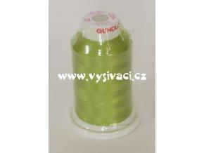 vyšívací nit zelená ROYAL C166 návin 1000m viskóza  nahrazena nití Sulky 1332