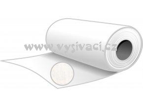 NOVOFIXIN N70č - pevný stříhací podkladový materiál pro vyšívání, gramáž 70g/m2, barva černá, šíře 80cm, DOPRODEJ ZBYTKU 8,0m