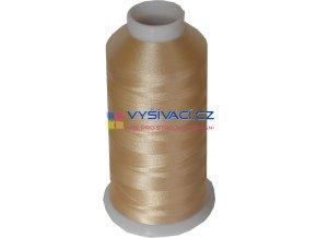 Vyšívací nit polyesterová P3011 béžová