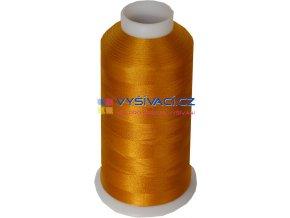 Vyšívací nit polyesterová P3026 zlatá