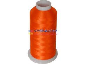 Vyšívací nit polyesterová P3050 oranžová