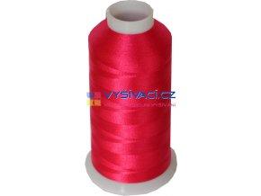 Vyšívací nit polyesterová P3075 fuchsia