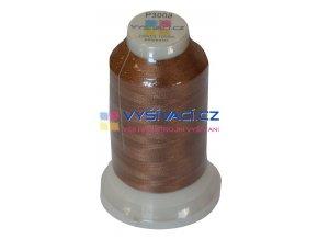 vyšívací nit polyester barva hnědá P3008 návin 1000m  33,30 Kč s DPH za kón při nákupu balení 10 kusů
