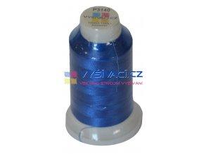 vyšívací nit polyester barva modrá P3140 návin 1000m  33,30 Kč s DPH za kón při nákupu balení 10 kusů