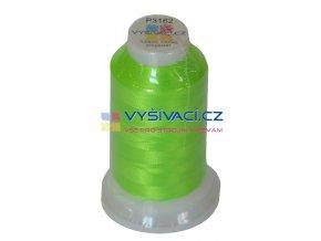 vyšívací nit polyester barva zelená P3162 návin 1000m  33,30 Kč s DPH za kón při nákupu balení 10 kusů