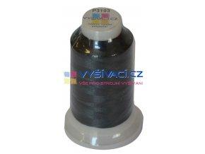 vyšívací nit polyester barva šedá P3193 návin 1000m  33,30 Kč s DPH za kón při nákupu balení 10 kusů