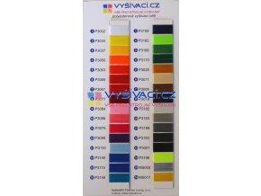 Polyester Vyšívací barevnice 30 +2 ks