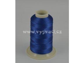 vyšívací nit modrá ROYAL C772 návin 1000m viskóza