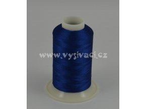 vyšívací nit modrá ROYAL C778 návin 1000m viskóza