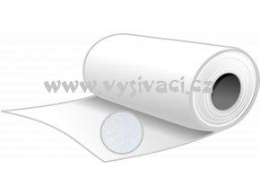 RANDOM R40b - podkladový materiál trhací pro vyšívání, gramáž 40g/m2, šíře 100cm, barva bílá, DOPRODEJ ZBYTKU 9,5m
