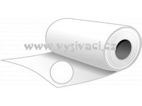 SPOFIX S80 bílý - pevný stříhací podkladový materiál pro vyšívání, gramáž 80g/m2, šíře 100cm, barva bílá, DOPRODEJ ZBYTKU 6,5m