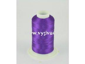 vyšívací nit fialová ROYAL C535 návin 1000m viskóza  dočasně nahrazena nití Sulky 1195