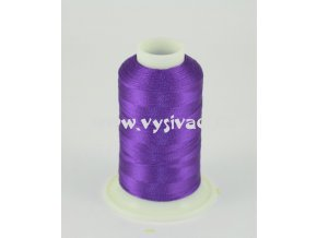 vyšívací nit fialová ROYAL C535 návin 1000m viskóza