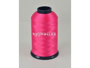 vyšívací nit růžová fuchsia ROYAL P7109 5000m polyester