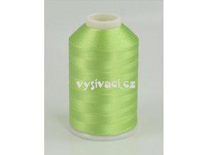 vyšívací nitě zelená ROYAL C424 návin 5000m viskóza