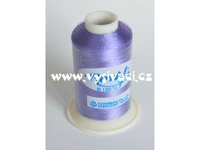 vyšívací nit fialová ROYAL C467 návin 1000m viskóza