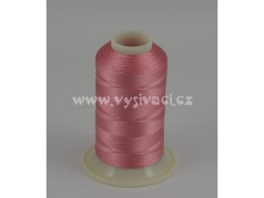 vyšívací nit růžová ROYAL C222 návin 1000m viskóza