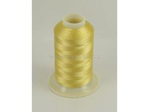 vyšívací nit žlutá ROYAL C015 návin 1000m viskóza