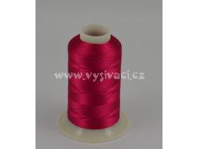 vyšívací nit růžová fuchsia ROYAL C056 návin 1000m viskóza