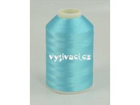 vyšívací nitě modrá ROYAL C103 návin 5000 metrů viskóza