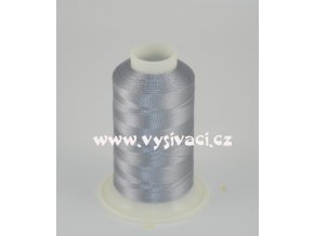 vyšívací nit šedá ROYAL C354 návin 1000m viskóza  nahrazena nití Sulky 1329