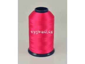 vyšívací nit růžová fuchsia ROYAL P026 5000m polyester