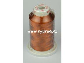 vyšívací nit hnědá ROYAL C353 návin 1000m viskóza  nahrazena nití Sulky 1158