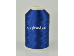 vyšívací nitě modrá ROYAL C779 návin 5000 metrů viskóza
