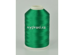 vyšívací nitě zelená ROYAL C753 návin 5000m viskóza