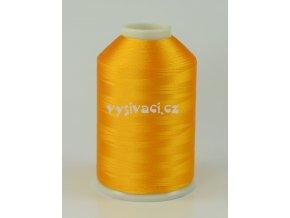 vyšívací nitě žlutá ROYAL C743 návin 5000m viskóza