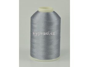 vyšívací nitě šedá ROYAL C354 návin 5000m viskóza