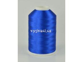 vyšívací nitě modrá ROYAL C323 návin 5000 metrů viskóza